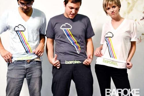 Raining Rainbows Baroke Clothing