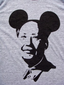 Mickey Mao Shirt from AVAZAVA -  Troundup – The T-shirt Lover's Blog :  tshirt pop gray
