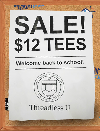 Threadless  Sale 2011