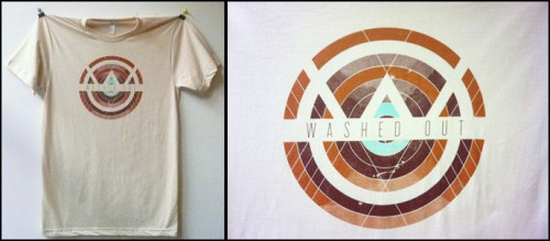 Washed Out t-shirt