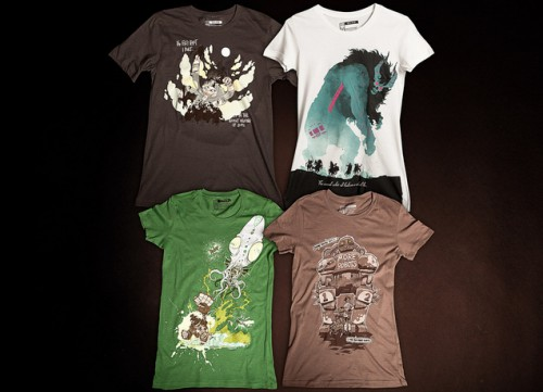 Threadless Comic-Con t-shirts