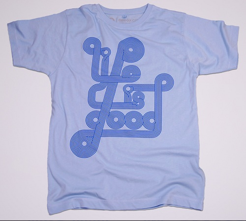 Life is Good T-Shirt 8teeSix