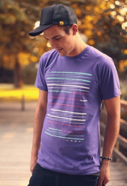 Stripes T-Shirt Home is Where