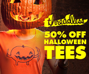 Threadless Sale Halloween