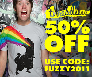 50% Off Coupon Threadless