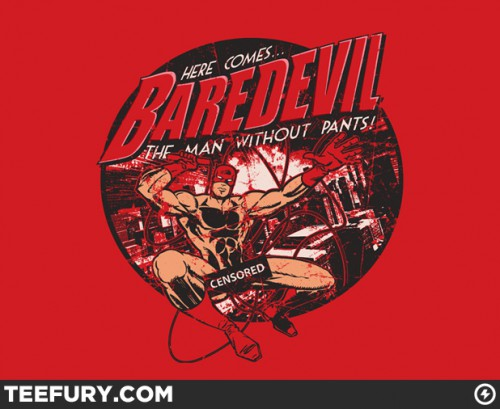 Baredevil t-shirt from Tee Fury