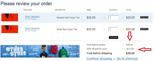 Threadless 30% off Coupon