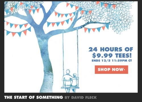 Threadless Sale $9.99