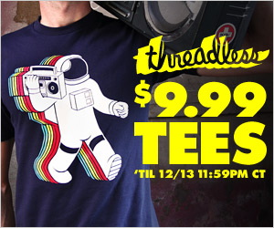 Threadless $9.99 Sale