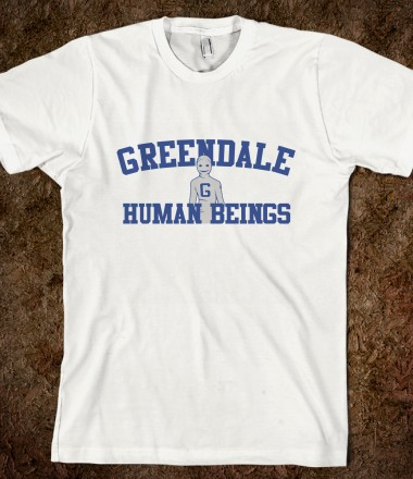 Greendale Human Beings t-shirt Community