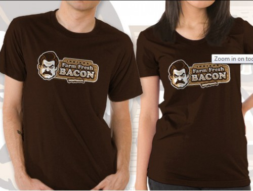 Parks and Rec Ron Swanson t-shirt