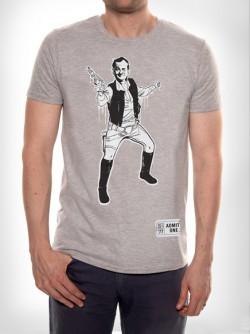 Bill Solo Murray t-shirt