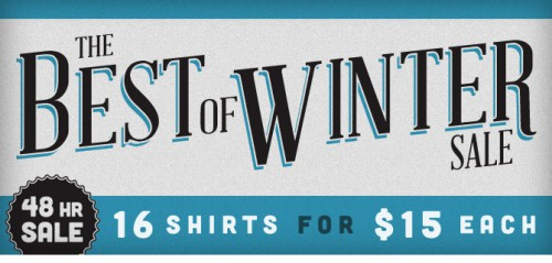 Busted Tees Sale Best of Winter