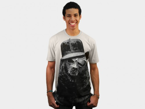 Black Bear Design by Humans Shirt