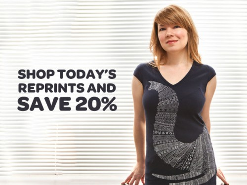 20% Off at Threadless