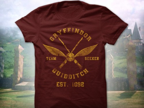 Harry Potter T-Shirt Quidditch