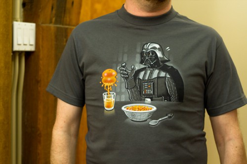 Star Wars t-shirt Imperial Breakfast