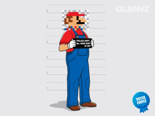 Mario T-Shirt from Glennz