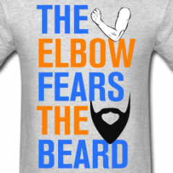 James Harden beard t-shirt