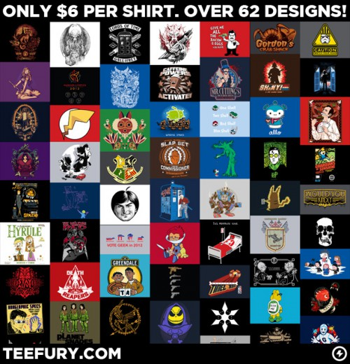 Teefury Grab Bag Sale