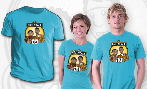 Community T-Shirt Troy and Abed