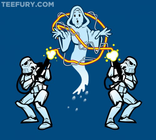 Star Wars Ghostbusters t-shirt