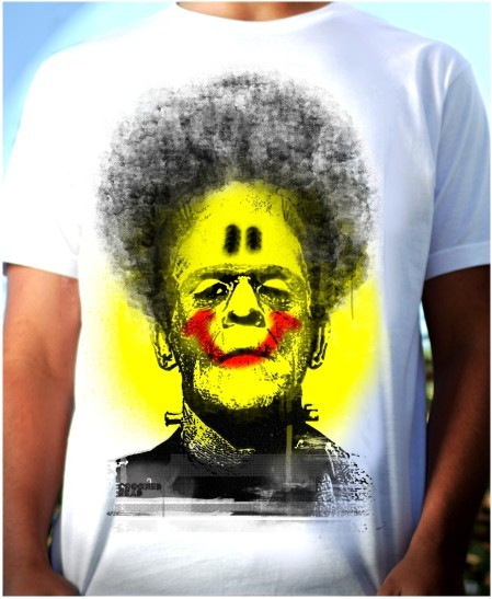 Crooked Head T-Shirt Monster