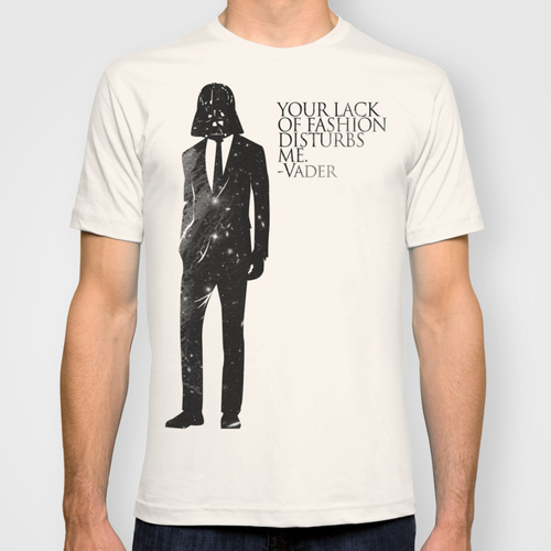 Darth Vader t-shirt Society6