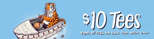 Threadless $10 Sale