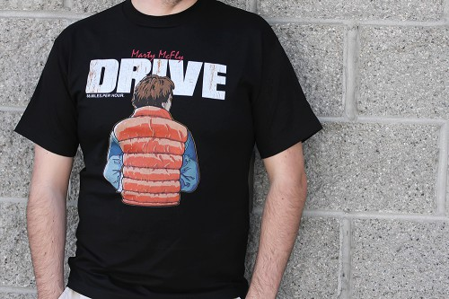 Back to the Future Drive Shirt