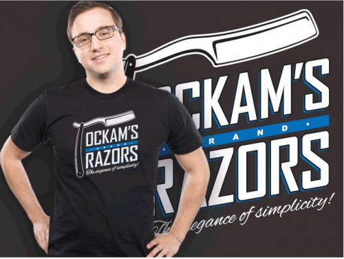 Occams razor t-shirt