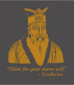 Headline Shirts Confucius Tee