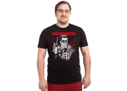 Swansonator Parks and Rec T-Shirt