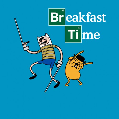 Breakfast Time Breaking Bad T-Shirt