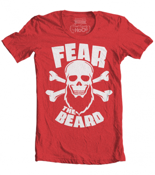 James Harden Fear the Beard T-Shirt