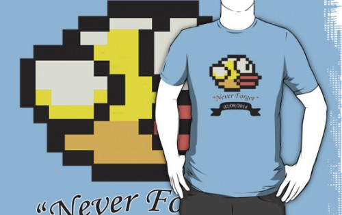 RIP Flappy Bird T-Shirt