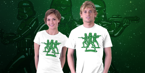Imperial Army Men T-Shirt Star Wars