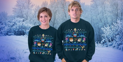 Ugly Christmas Sweater teefury