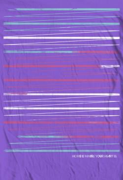 Stripes Shirt Home is Where