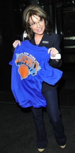 Sarah Palin Linsanity t-shirt