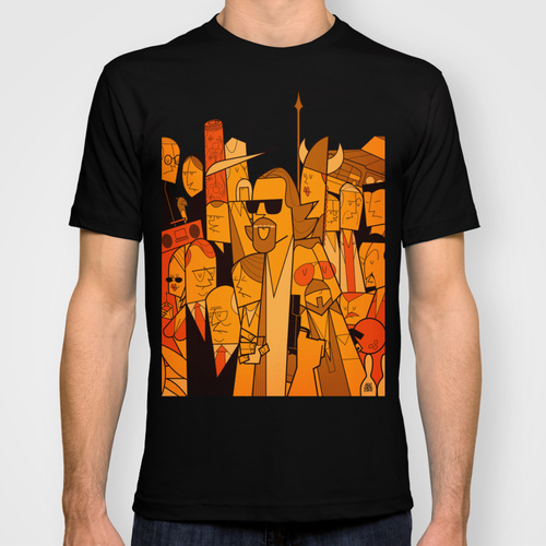 Big Lebowski t-shirt Society 6