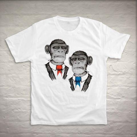 Smoking Chimps shirt 3rd Rail