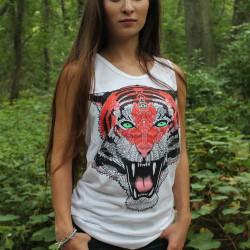 Awaken the Tiger T-Shirt Infinity Life
