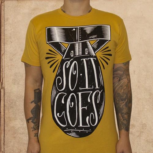 Slaughterhouse Five Vonnegut T-Shirt So it Goes