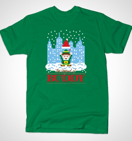 Buddy the Elf T-Shirt Busted Tees