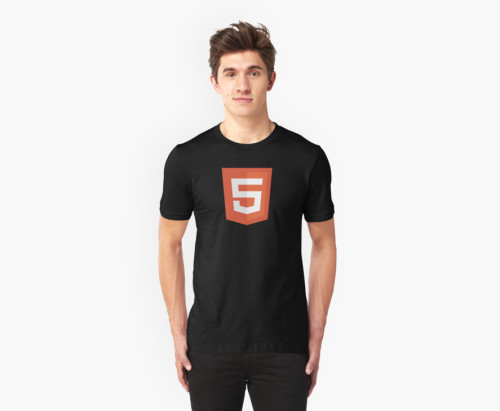 HTML 5 shirt silicon valley gilfoyle