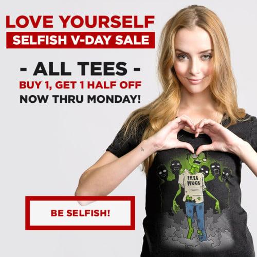 Headline Shirts Valentines Sale