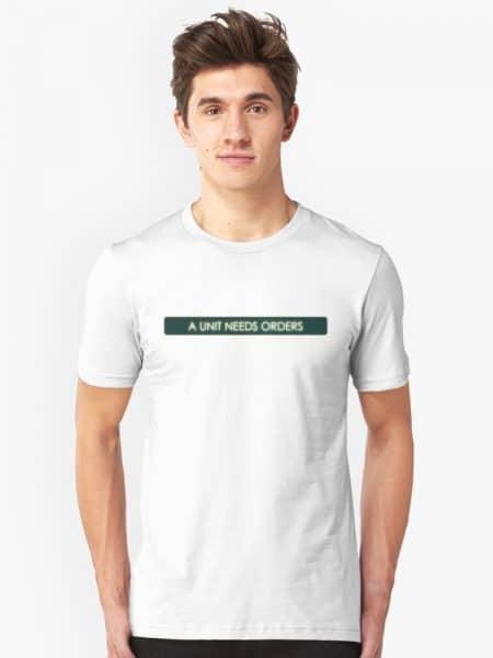 "Civilization 5 ""A Unit Needs Orders"" T-Shirt"