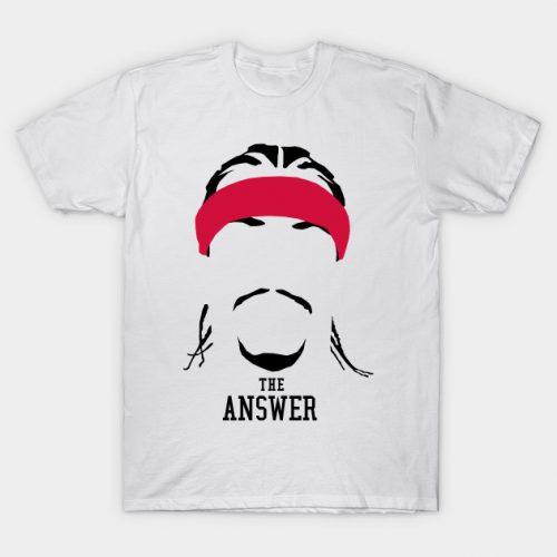 "Allen ""The Answer"" Iverson T-Shirt"