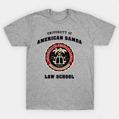 University of American Samoa Law School Saul T-Shirt